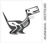 x ray art of bird. vector art... | Shutterstock .eps vector #1815731183