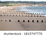 Worn Away Beach Defenses Image