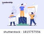 illustration business...   Shutterstock .eps vector #1815757556