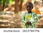 Smiling Beautiful Small African ...