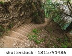 The Stairs Of The Imbut Trail ...