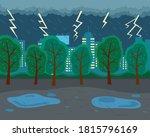 Rainy Weather  Lightning ...