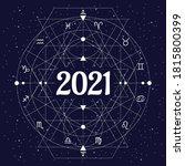 vector illustration of zodiac...   Shutterstock .eps vector #1815800399