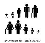 family design over white... | Shutterstock .eps vector #181580780