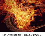 3d Illustration Of A Fire...