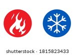 hot and cold vector icon | Shutterstock .eps vector #1815823433