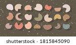 abstract contemporary artistic... | Shutterstock . vector #1815845090