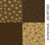 set of vector seamless pattern... | Shutterstock .eps vector #181587263