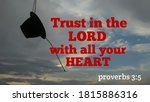 Trust In The Lord With All Your ...