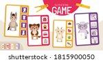 educational  game for children. ... | Shutterstock .eps vector #1815900050