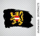 flag of  flemish brabant brush... | Shutterstock .eps vector #1815906173