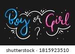 boy or girl hand drawn modern...   Shutterstock .eps vector #1815923510