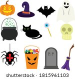 set of stickers dedicated to... | Shutterstock .eps vector #1815961103