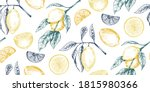 vector seamless pattern with... | Shutterstock .eps vector #1815980366
