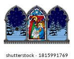 Stained Glass Window...