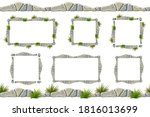 set of seamless constructor old ...   Shutterstock .eps vector #1816013699