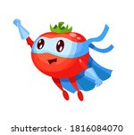 funny cartoon character... | Shutterstock .eps vector #1816084070