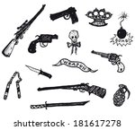 ������, ������: Guns Revolver Weapons And