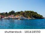 entrance into mediterraneam port | Shutterstock . vector #181618550