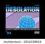desolation statement slogan...   Shutterstock .eps vector #1816238816