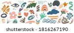 hand drawn various shapes and... | Shutterstock .eps vector #1816267190
