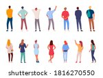 people character. man and woman ...   Shutterstock . vector #1816270550