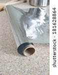 Small photo of Roll of kitchen or aluminum foil