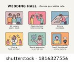 wedding in the situation of... | Shutterstock .eps vector #1816327556