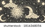 Magical Banner For Astrology ...