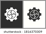 business solution icons. vector ... | Shutterstock .eps vector #1816370309