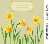 vector illustration of card... | Shutterstock .eps vector #181641698