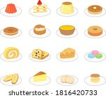 sweets illustration material... | Shutterstock .eps vector #1816420733