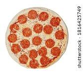 Pepperoni Pizza With Mozzarella ...