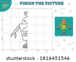 copy and complete the picture...   Shutterstock .eps vector #1816451546
