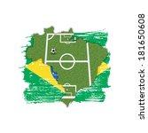 a soccer football illustration  ... | Shutterstock . vector #181650608