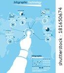 infographic technology 12 | Shutterstock .eps vector #181650674
