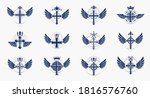 religion crosses logos big... | Shutterstock .eps vector #1816576760