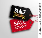 pricetag label price discount... | Shutterstock .eps vector #1816586369