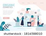 female character choosing... | Shutterstock .eps vector #1816588010