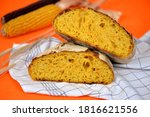 Home Baked Pumpkin Bread With...