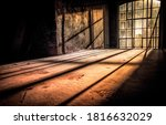 Sunrays Fall Into The Old Room...