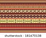 ethnic pattern | Shutterstock . vector #181670138