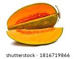 Japanese Melon  Large Orange...
