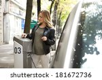 car sharing | Shutterstock . vector #181672736