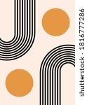abstract contemporary design ... | Shutterstock .eps vector #1816777286