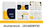 8 pages creative business... | Shutterstock .eps vector #1816808930