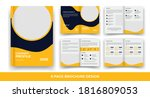 8 pages creative business... | Shutterstock .eps vector #1816809053