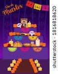 day of the dead celebration ... | Shutterstock .eps vector #1816818620