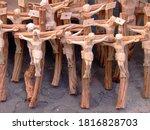 Handmade Wooden Crucifix In...
