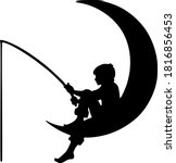 Vector Image Of A Crescent Moon ...